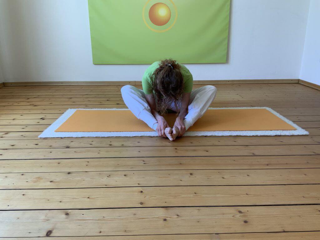 Asana Yoga Schmetterling