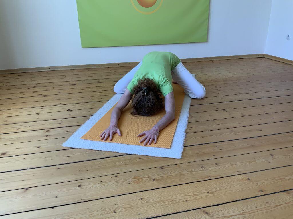 Asana Yoga Frosch