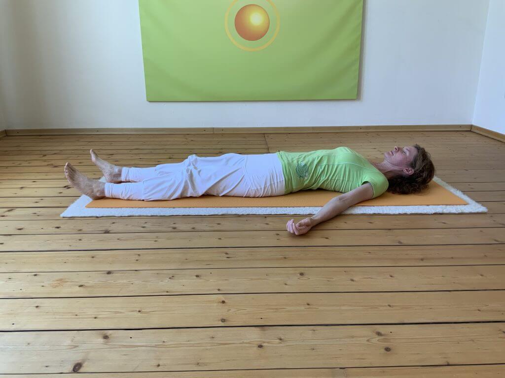 Asana Yoga Tiefenentspannung