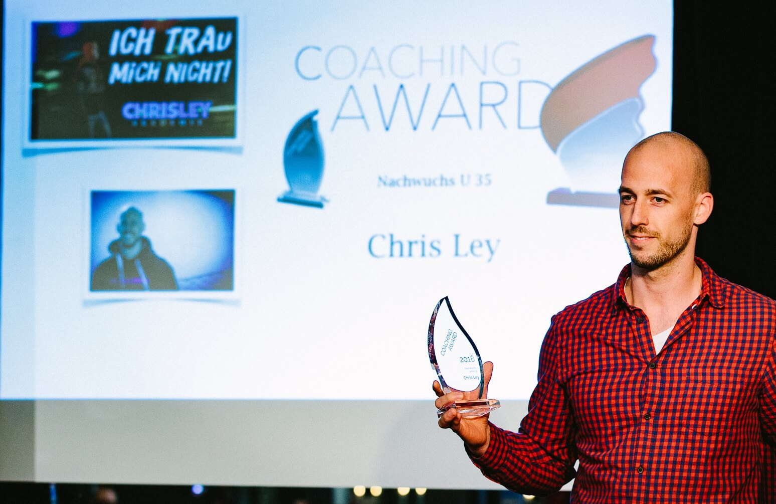 Coaching Award Chris Ley