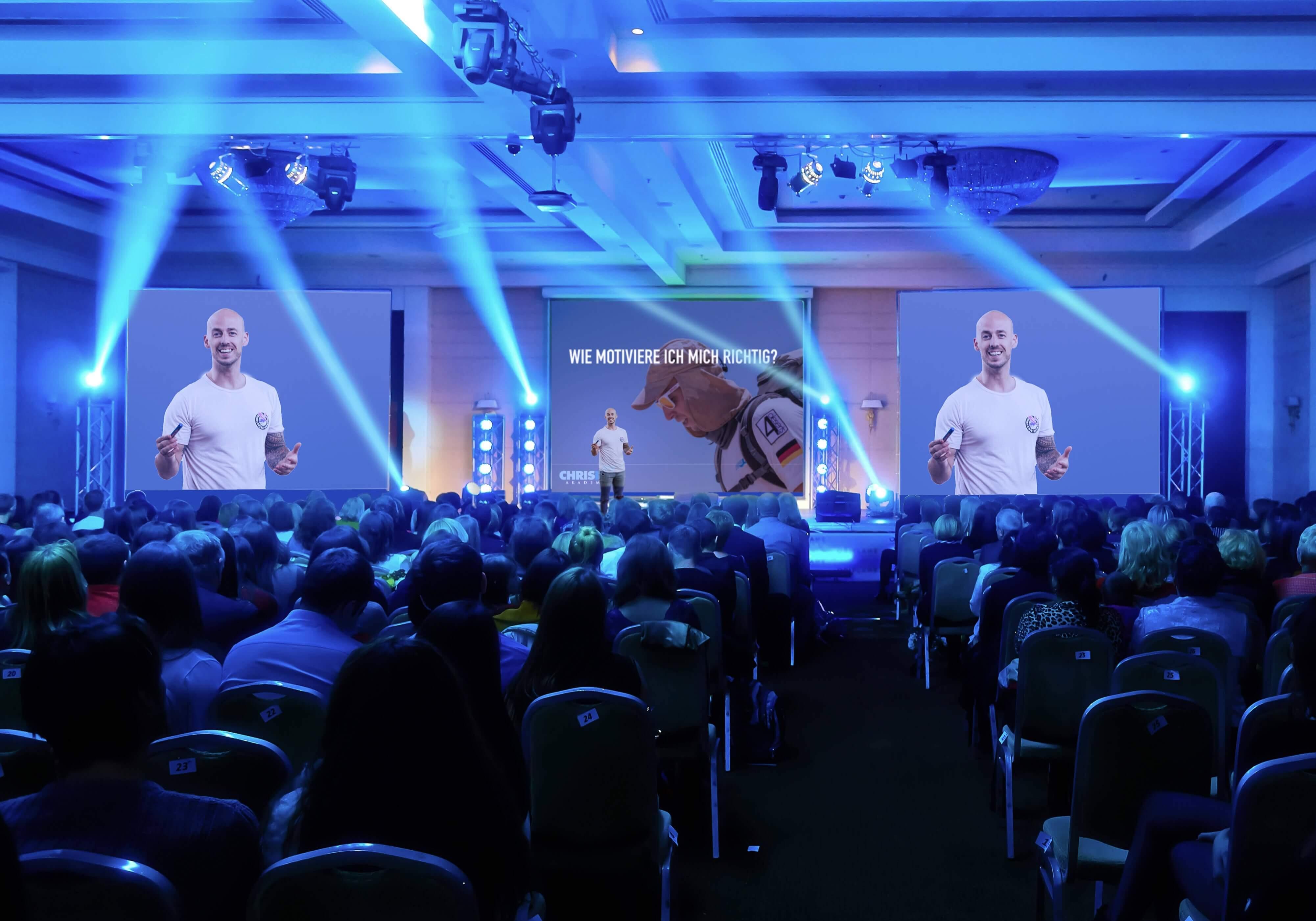 Chris Ley Motivationstrainer & Keynote Speaker